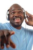Écouter la musique Photo libre de droits