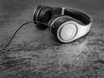 Écouteurs électroniques Images stock