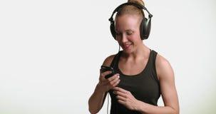 écouteurs banque de vidéos