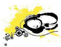 Écouteurs Photographie stock