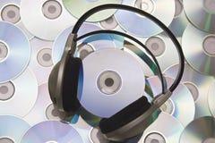 Écouteurs Photos stock