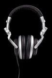 Écouteurs de type du DJ Photos stock