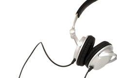 Écouteurs du DJ Photo libre de droits
