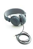 Écouteurs gris de vintage Image libre de droits