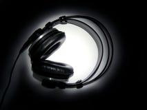 écouteurs professionnels Photos libres de droits