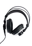 écouteurs professionnels Images stock