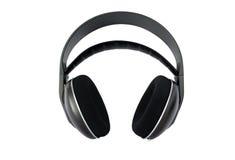 Écouteurs sans fil de haute fidélité d'isolement Images stock
