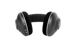 Écouteurs sans fil de haute fidélité d'isolement Photo libre de droits
