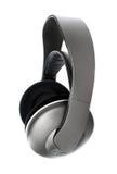 Écouteurs sans fil de haute fidélité d'isolement Photo stock