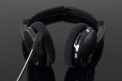 Écouteurs stéréo rechargeables Photo libre de droits