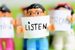 Écoutez Images libres de droits