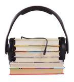 Écoutez des livres Photos stock