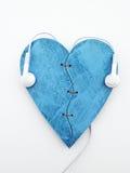 Écoutez votre coeur Images libres de droits