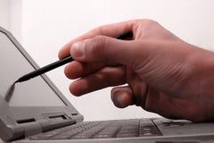 Écran 2 de l'ordinateur TFT photos libres de droits