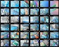 écran Photos libres de droits