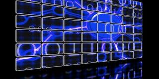 Écran abstrait illustration de vecteur