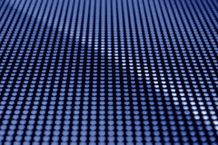 Écran bleu de LED Photographie stock libre de droits