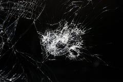 Écran cassé de téléphone, de comprimé ou d'un certain instrument photographie stock libre de droits