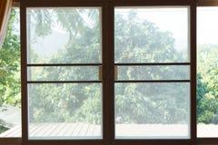 Écran de fil de moustique de fenêtre photo stock