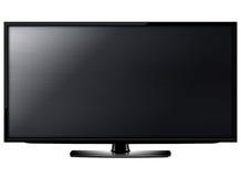 Écran de l'affichage à cristaux liquides TV Image stock