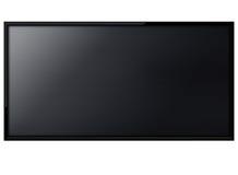 Écran de l'affichage à cristaux liquides TV Photographie stock