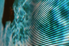 Écran de LED SMD - bleu de sarcelle d'hiver Photographie stock libre de droits