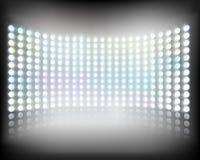 Écran de multimédia Illustration de vecteur Image stock
