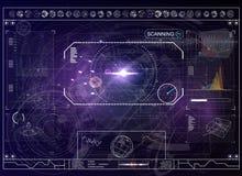Écran de radar Illustration de vecteur pour votre eau doux de design technologie de planète de téléphone de la terre de code bina illustration de vecteur
