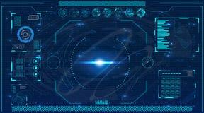 Écran de radar Illustration de vecteur pour votre eau doux de design technologie de planète de téléphone de la terre de code bina illustration libre de droits