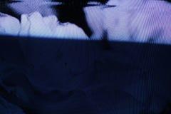 Écran du problème TV Erreur analogue originale sur l'écran de TV Photos libres de droits