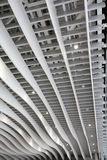 Écran moderne de plafond photographie stock libre de droits