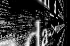 Écran moderne de technologie Modèle de cyber de Digital Image libre de droits