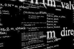Écran moderne de technologie Modèle de cyber de Digital Photo libre de droits