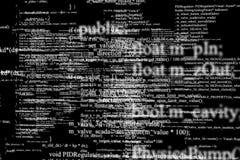 Écran moderne de technologie Modèle de cyber de Digital Images stock