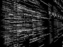 Écran moderne de technologie Modèle de cyber de Digital Images libres de droits