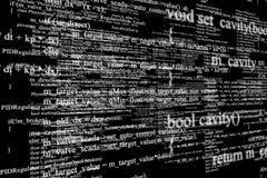 Écran moderne de technologie Modèle de cyber de Digital Photographie stock