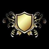 écran protecteur d'or Photo stock