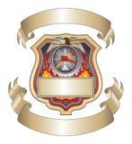 Écran protecteur III de sapeur-pompier illustration libre de droits