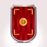 Écran protecteur romain illustration de vecteur