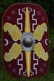 écran protecteur romain de légionnaire Images stock