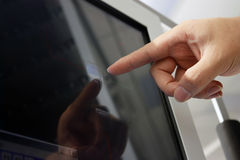 Écran tactile Image libre de droits
