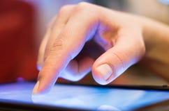 Écran tactile photo libre de droits
