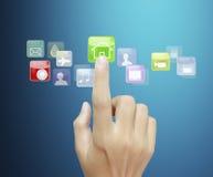 Écran tactile Images stock