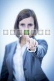 Écran tactile Images libres de droits