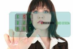 Écran tactile Photographie stock libre de droits