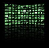 Écrans Images stock