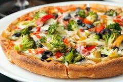 Écrimages de pizza de spécialité photos libres de droits