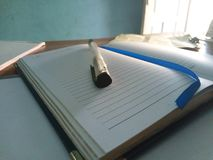 écriture photographie stock
