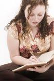 Écriture Photo stock