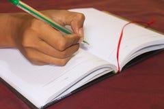 écriture Image libre de droits